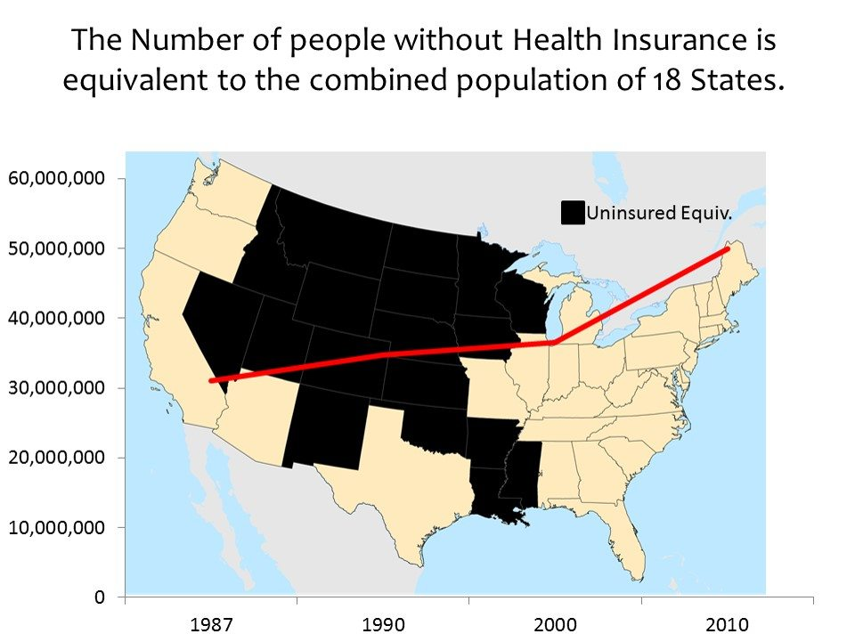 uninsured americans map