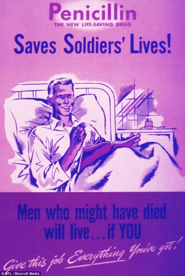 penicillin in war